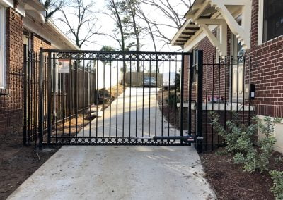 Single Swing Steel Gate