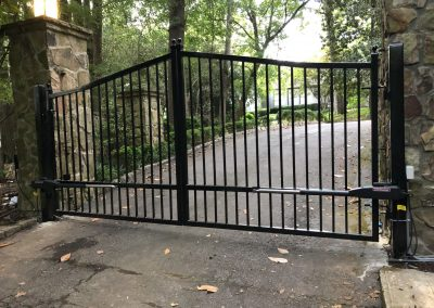 Steel Automated Gate