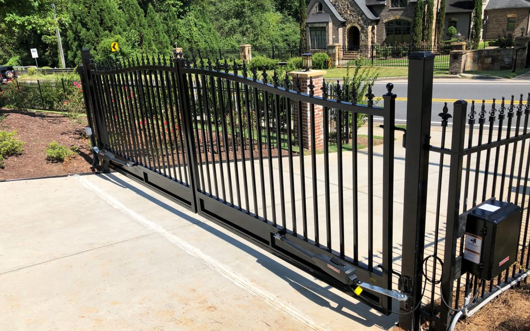 access control systems and gate operator installations